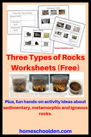 Rocks And Minerals Anchor Chart The Three Types Of Rocks Our Activities And A Free