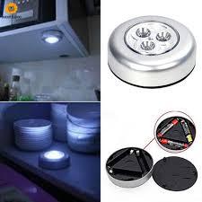 Đèn Led 3 Bóng Mini Không Dây Cảm Ứng Chạm Gắn Tủ Chén Nhà Bếp - Đèn chùm