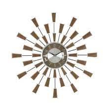 sunburst or starburst clock spokane