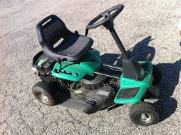 weedeater one riding lawn mower 26\