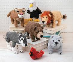 Crochet Animal Patterns Custom Crochet Animal Patterns Lions Bears Tigers Eagles And More
