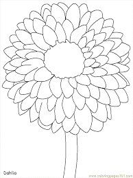 Small Picture Free Printable Flower Coloring Pages Coloring Home