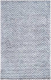 ask question about ivory and navy wool area rug with zig zag design selected sizes on backorder call for availability