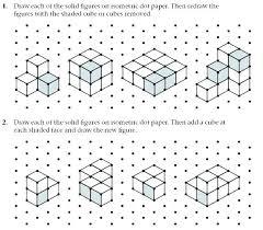 Isometric Graph Paper Background Plotting Triangular Stock Vector
