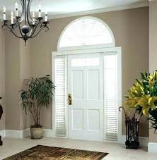 window treatments for doors with half glass front door curtains coverings tre