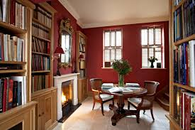 red library. Homes + Decor