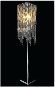 modern crystal standing chandelier floor lamp chrome dd jewels