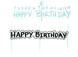 make your own birthday banner make a birthday banner