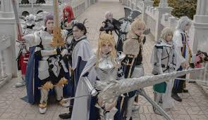 knights of the round table jeremia escueta mia bedivere johat mash kyrielight cosplay photo cure worldcosplay