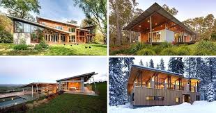 metal siding for modern homes examples of modern houses with a sloped roof corrugated metal siding modern homes