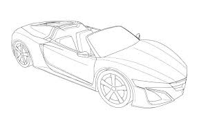 Printable Sports Car Colouring Pages Printable Colouring Pages