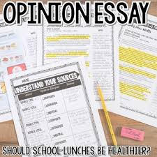 th grade opinion essay writing should school lunches be healthier