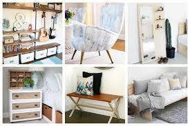 we ve found 15 of our favorite stylish diy bedroom furniture ideas to update and