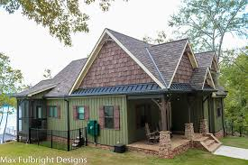 small craftsman cottage house plan with porch