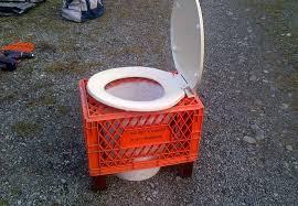 diy camping toilet keeping waste at bay