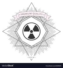 Radiation Design Ionizing Radiation Icon