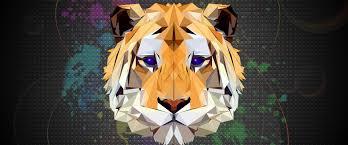 Tiger Abstract 4K Wallpaper #31