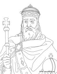 Charlemagne Coloring Page Cc Cycle 2