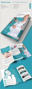 tri fold brochure template 45 word pdf psd eps dentalcare a3tri fold template