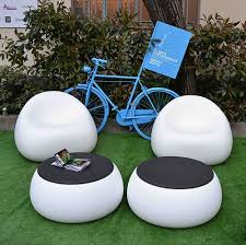 from simple and modern garden furniture set in gum form gumball garden furniture