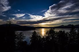 Northern Lights Sandpoint Id Beautiful Sandpoint Idaho Sunset From Al Seger Kxly4 Pic