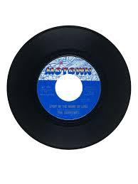 In the name of love. Stop In The Name Of Love Vinyl Single Smithsonian Music