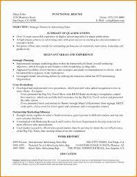 Experiential Marketing Resume Fresh Marketing Resume Summary