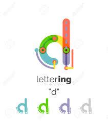 carta de negocios carta de negocios lineal alfabeto letras iniciales concepto de