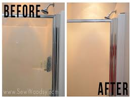 update a shower glass door from sewwoodsy com created for homesdotcom diy