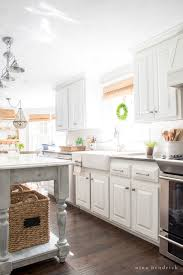 how to paint oak cabinets and hide the