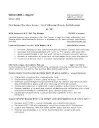 Quality Engineer Resume Format Download Senior Software Assurance