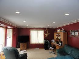 Mood Lighting Living Room Interior Elegant Black Sofa With Rectangular Ottoman Coffee Table