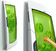 Gel fridge: put your stuff in it and the gel keeps it cool. when your reach  in and take it out, the gel automatically reforms.
