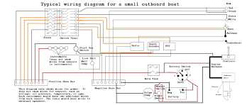 wiring diagram small outboard boat restoration pinterest basic electrical wiring diagrams home wiring diagram small outboard