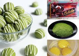 Panaskan suhu oven 180'c beserta cetakan kue bahulu; Cara Super Mudah Bikin Resep Kue Nastar Greentea Isi Coklat Youkitchen