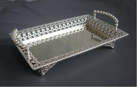 Decorative Serving Trays With Handles Metal Serving Tray Metal Serving Tray Round proportionfit 31
