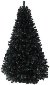 Christmas 1  PolyvoreBlack Fiber Optic Christmas Tree