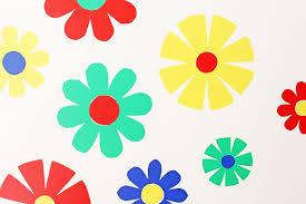 wall art flower power