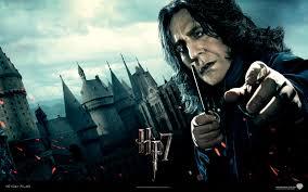 Alan Rickman, Harry Potter and the Half-Blood Prince, Harry Potter, Professor Severus Snape - Harry-Potter-Deathly-Hallows-Wallpaper-snape