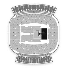Auburn Seating Chart With Rows Jordan Hare Stadium Seating Chart Map Seatgeek