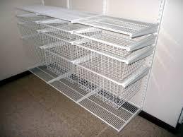 wire closet organizer ideas wall