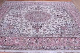 10x10 3m square 50 raj 350 kpsi tabriz persian rug