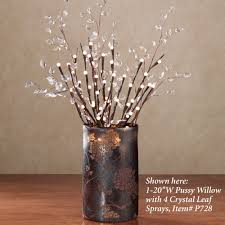 Decorating Lighted Branches Plus Wall Light And Brown For Battery