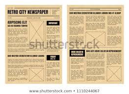 Old Newspaper Illustration Template Download Free Vectors