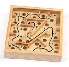 Wooden Maze Game With Ball Bearing Buy steel ball game and get free shipping on AliExpress 52