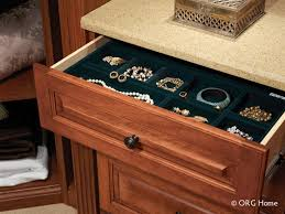 velvet lined jewelry tray for an upscale walk in closet design innovate home org columbus