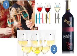 for the next wine party wine gift ideas 1 wine glass markers here 2 swarovski crystal magnetic