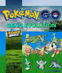 Pokemon Go Gen 3 Pokemon List List Of All Generation 3