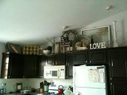 decor above kitchen cabinets. Extraordinary Decorating Above Kitchen Cabinets For Your Home Decor Above Kitchen Cabinets O