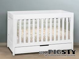 convertible crib with storage white  wonderful baby cribs with